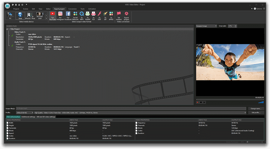 vsdc video editor pro free download full version