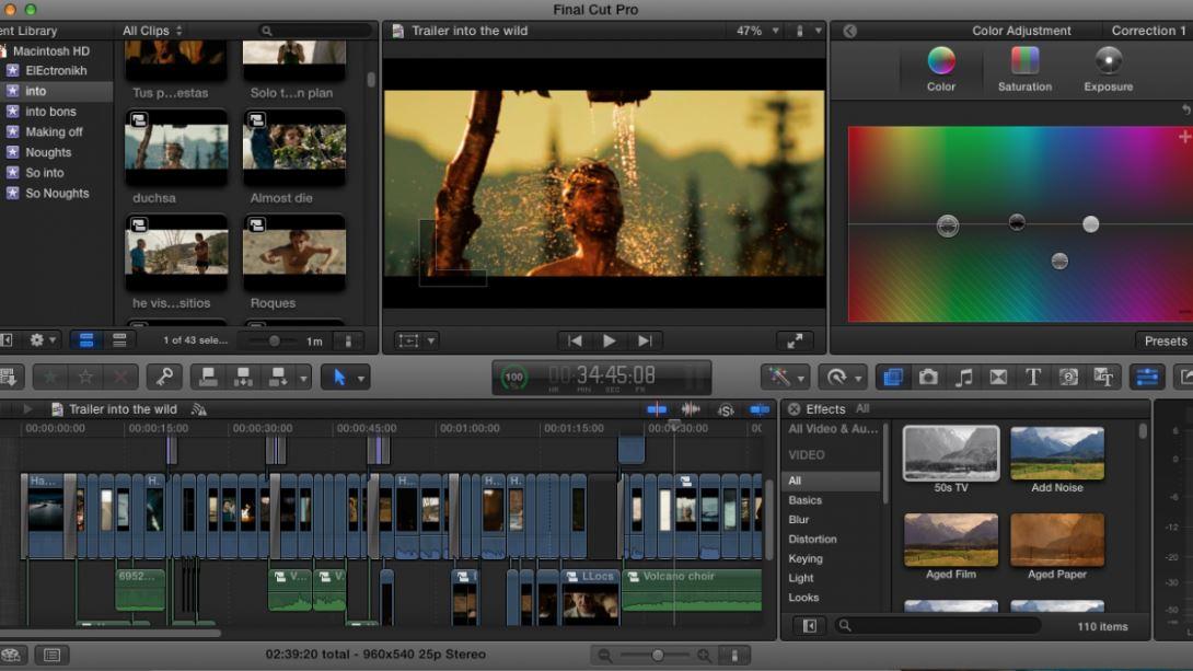 Final Cut Pro X MAC free download