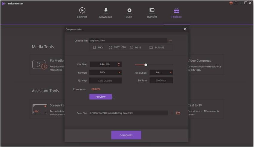 Wondershare UniConverter Registration Code