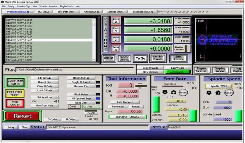 Mach3 CNC Software Free download